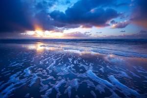 ocean wallpaper sunset awesome