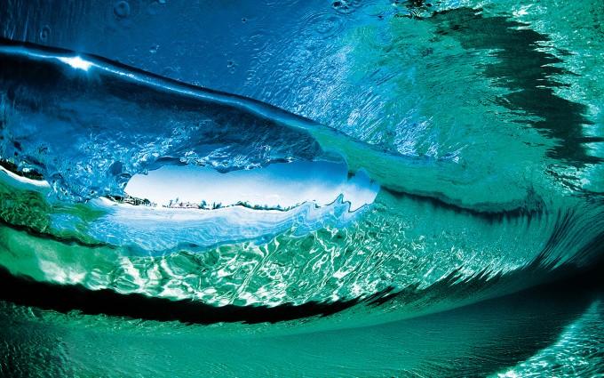 ocean wallpaper underwater waves