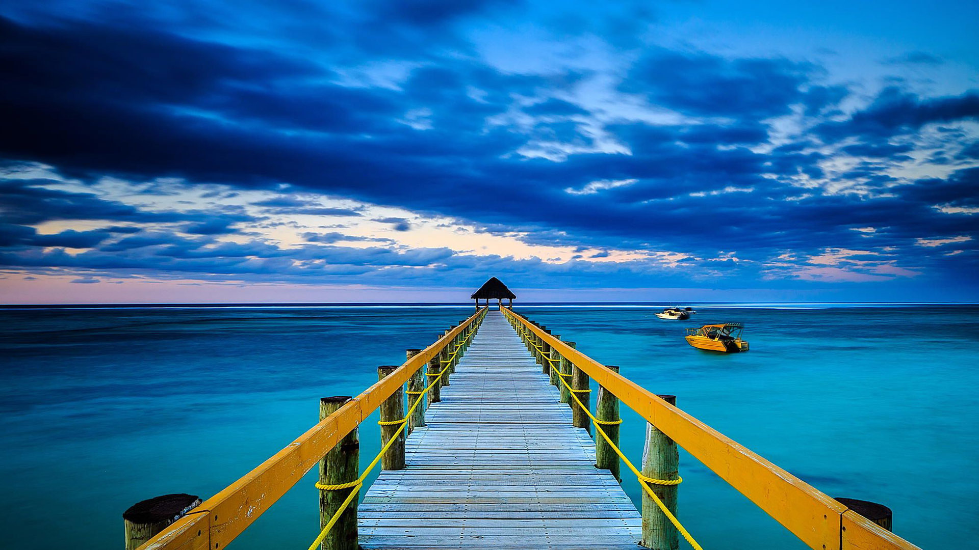 Ocean wallpaper wooden bridge hd desktop wallpapers 4k hd - Ocean pictures for desktop background ...