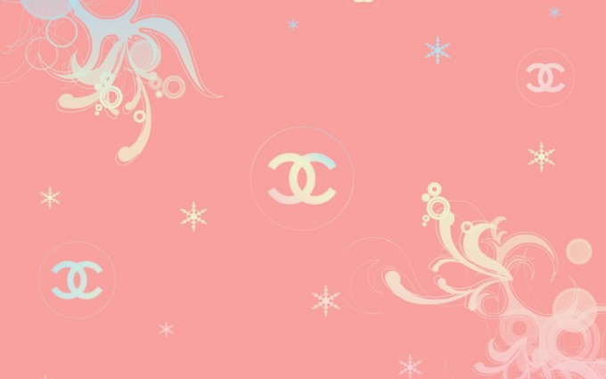 pink chanel wallpaper