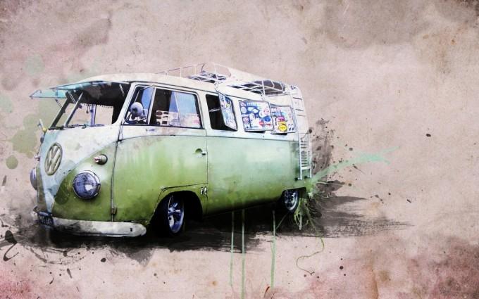 retro wallpaper car hd