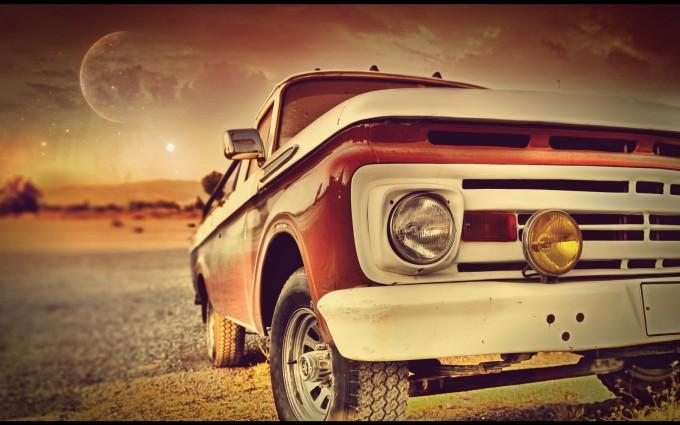 retro wallpaper car vintage