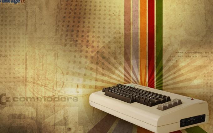 retro wallpaper device