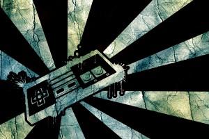 retro wallpaper game
