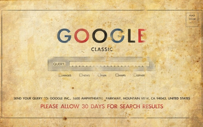retro wallpaper google