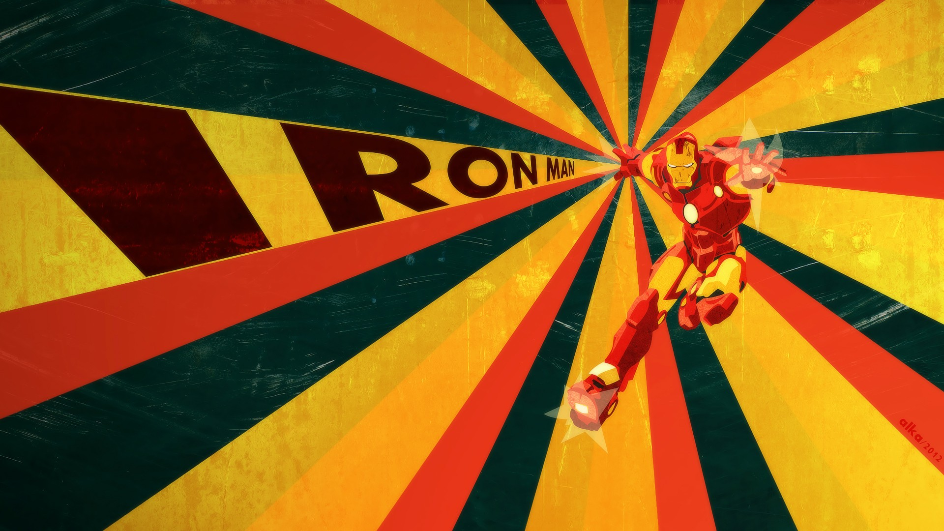 retro wallpaper iron man HD Desktop Wallpapers 4k HD