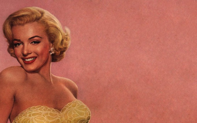retro wallpaper marilyn monroe