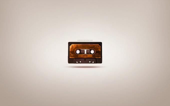retro wallpaper music
