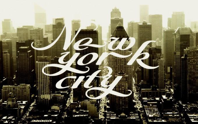 retro wallpaper new york