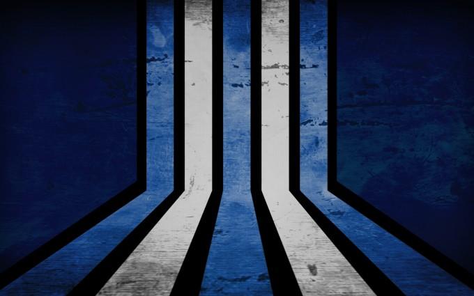 retro wallpaper stripes blue