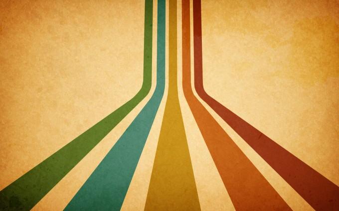retro wallpaper stripes cool