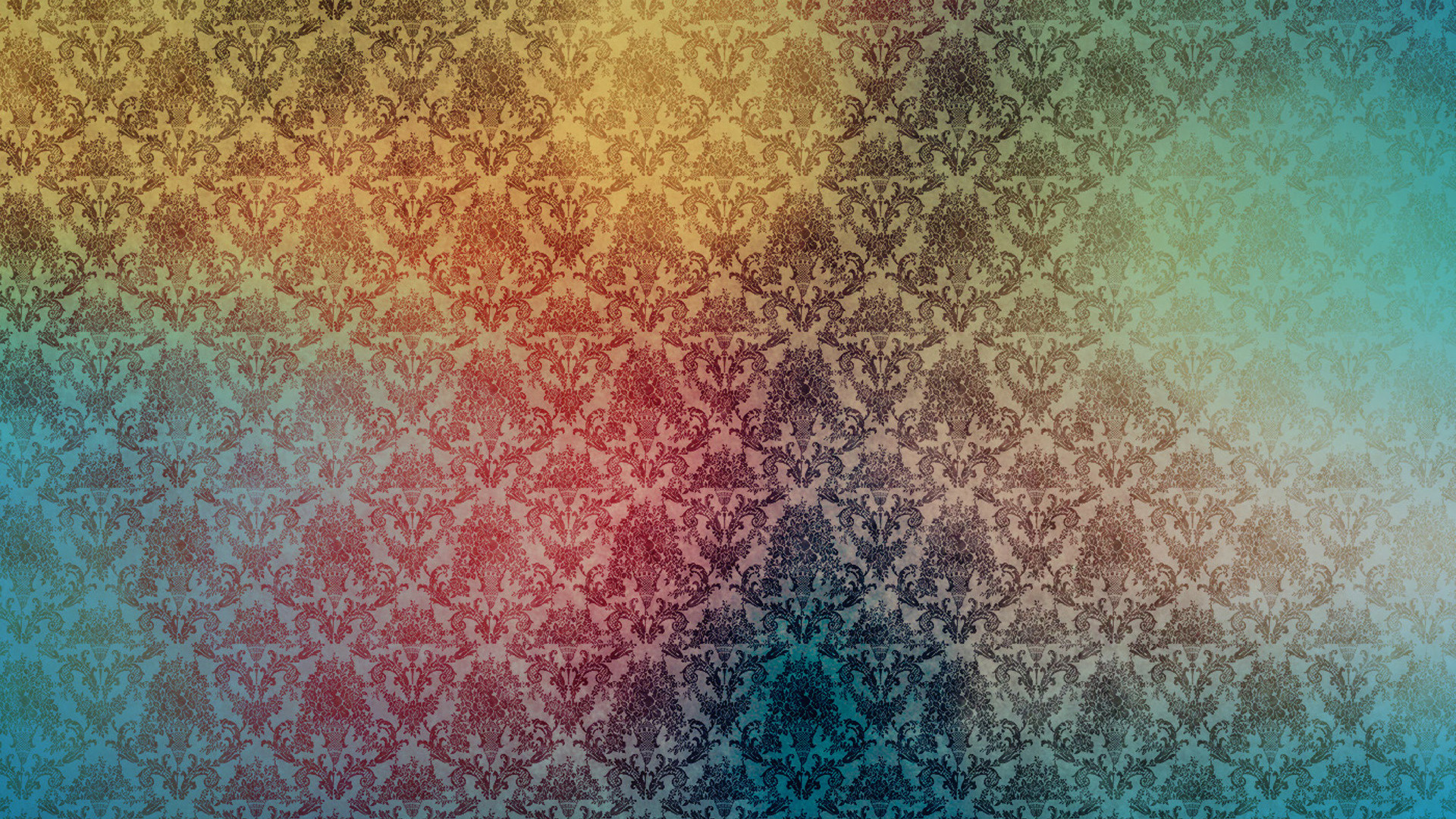 retro wallpaper vintage colorful