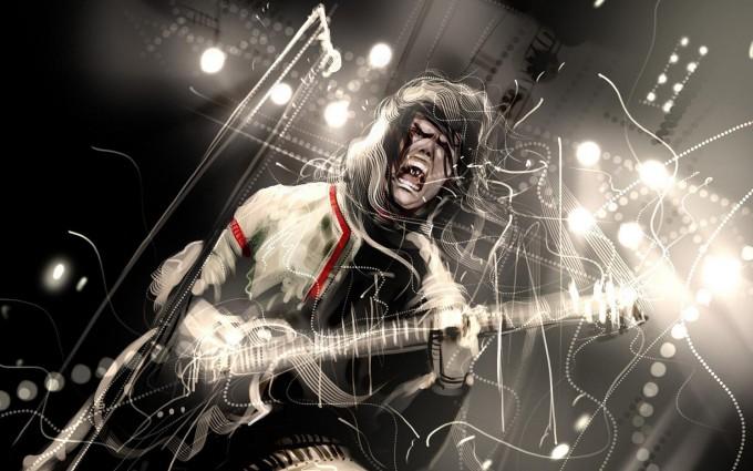 rock wallpapers digital art
