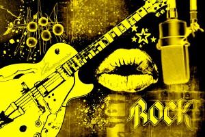 rock wallpapers golden