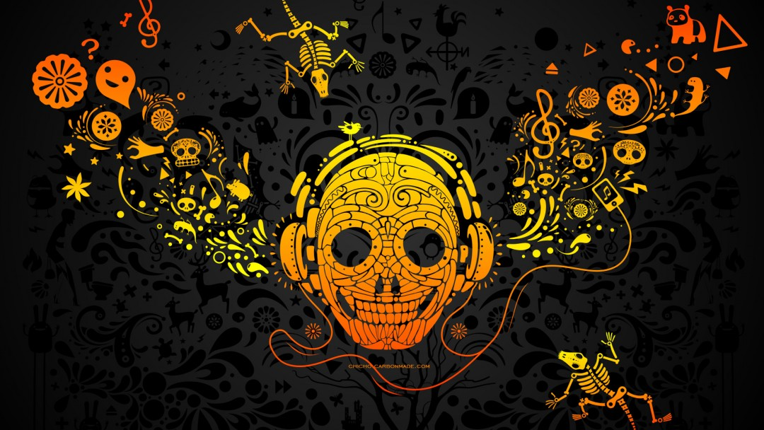 cool rock skull live wallpaper - photo #3