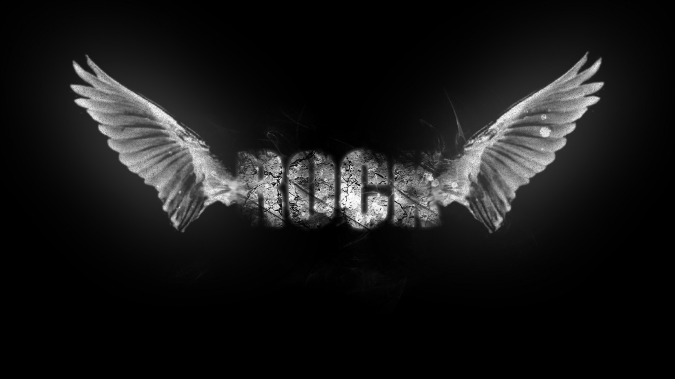 rock wallpapers wings