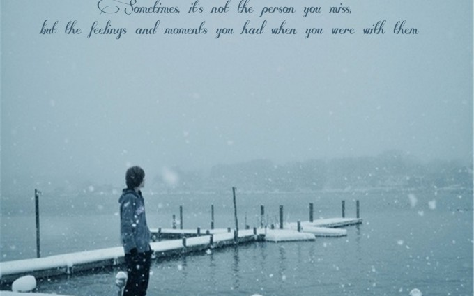 Sad Love Quotes Wallpaper. ««