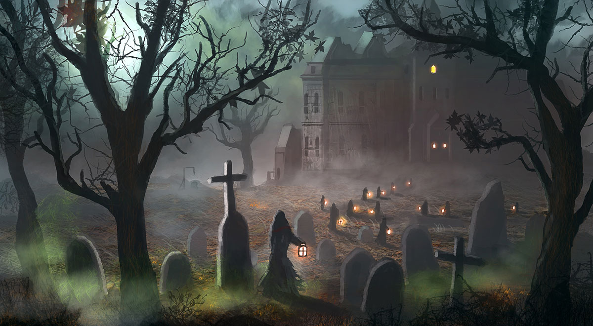 scary halloween wallpaper hd