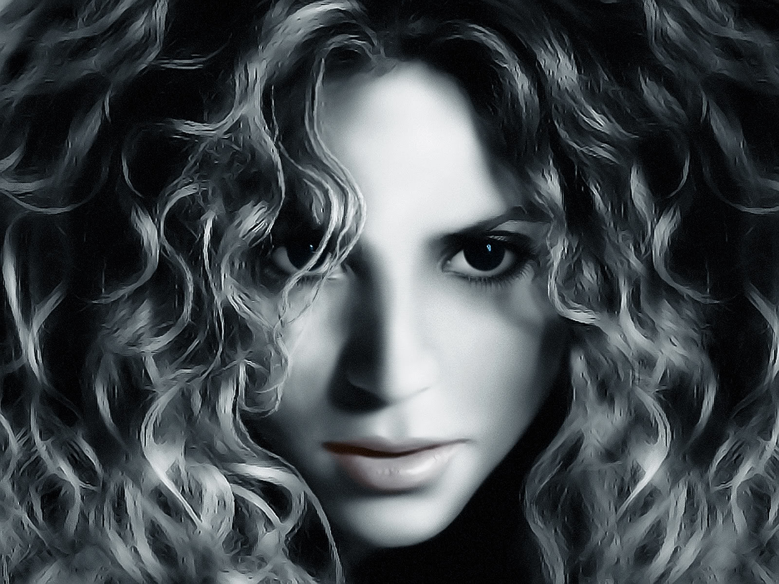 This wallpaper was created for the Community of fans of Shakira. Shakira Isabel Mebarak Ripoll was born on February 2, 1977, in Barranquilla, Colombia.
