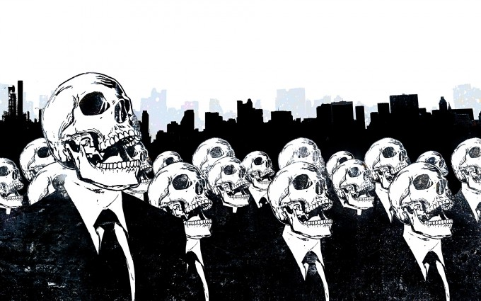 skull wallpapers army