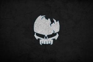 skull wallpapers black background