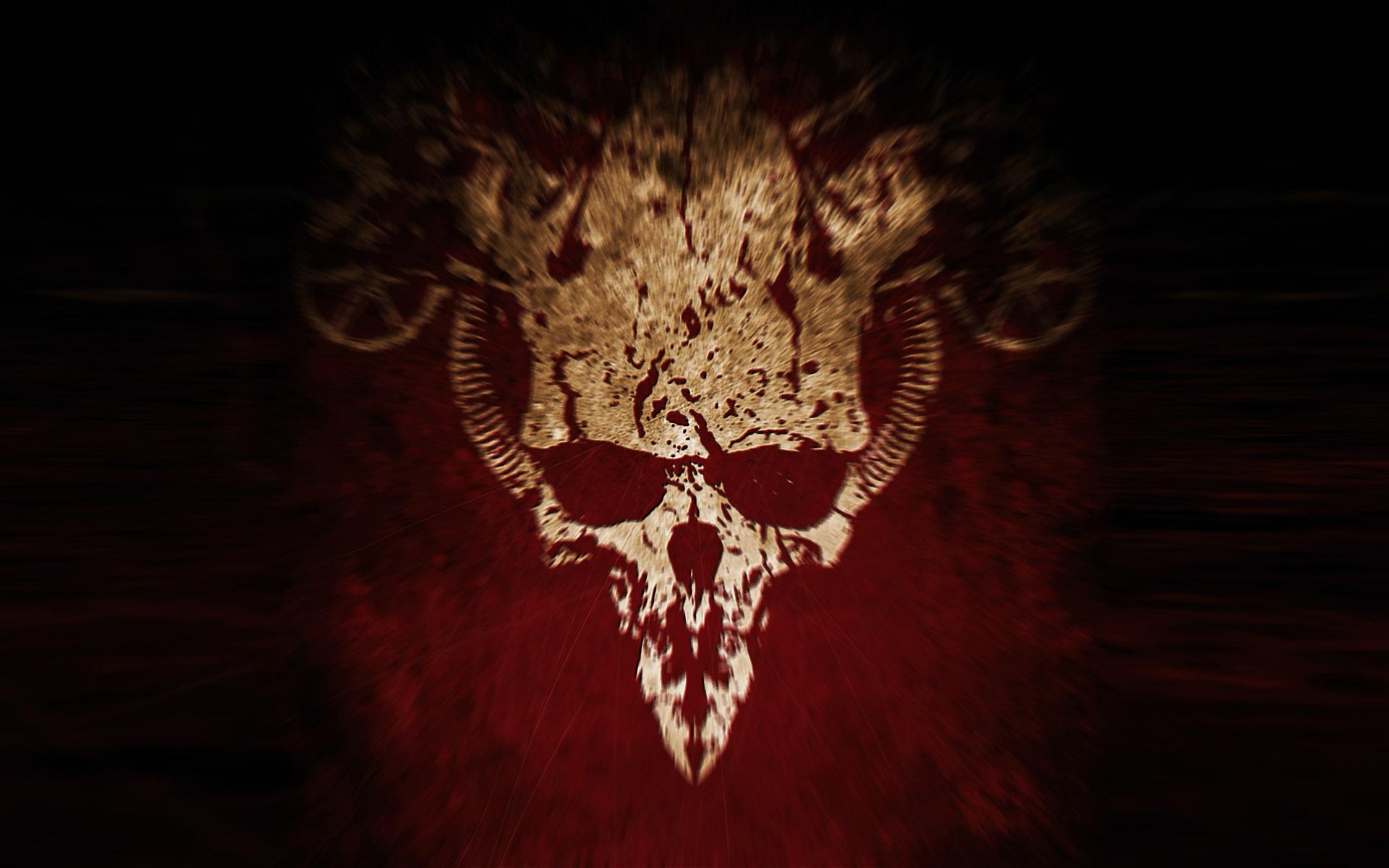 skull wallpapers devil