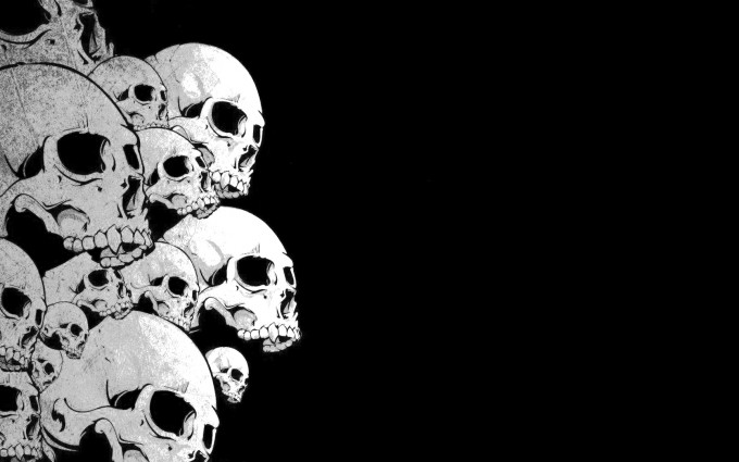 skull wallpapers free
