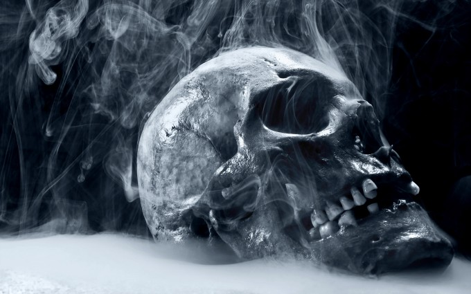 skull wallpapers scary hd