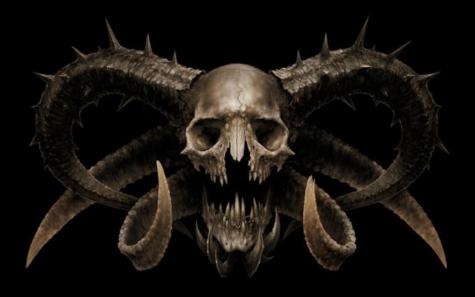 skull wallpapers stunning