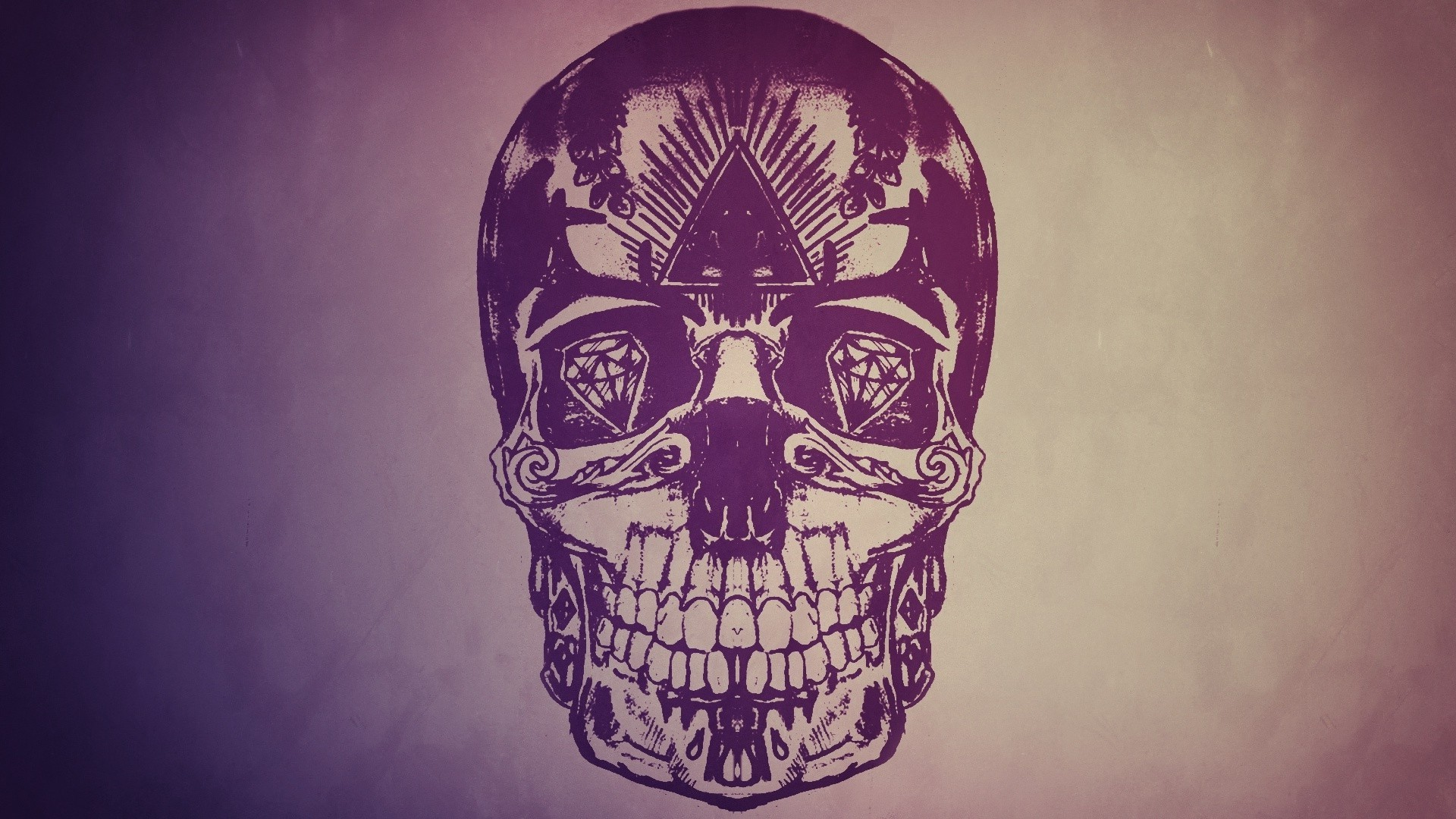 skull wallpaper wallpapers hd - photo #35