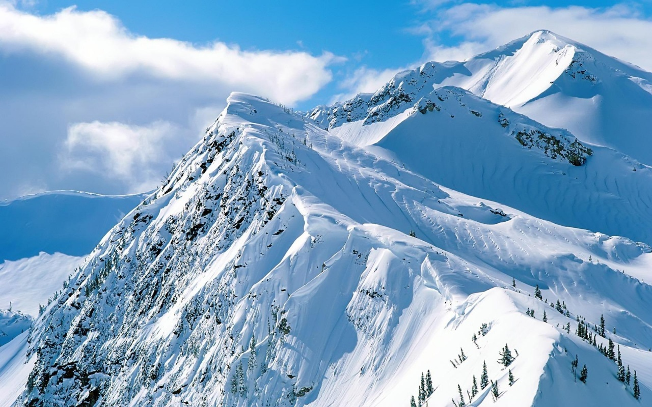 snow mountain wallpaper