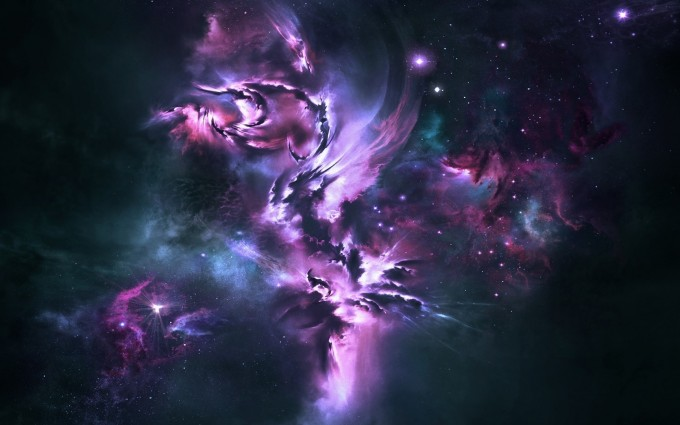 star wallpapers purple hd