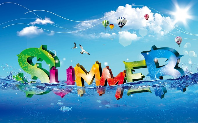 summer wallpapers cool fonts