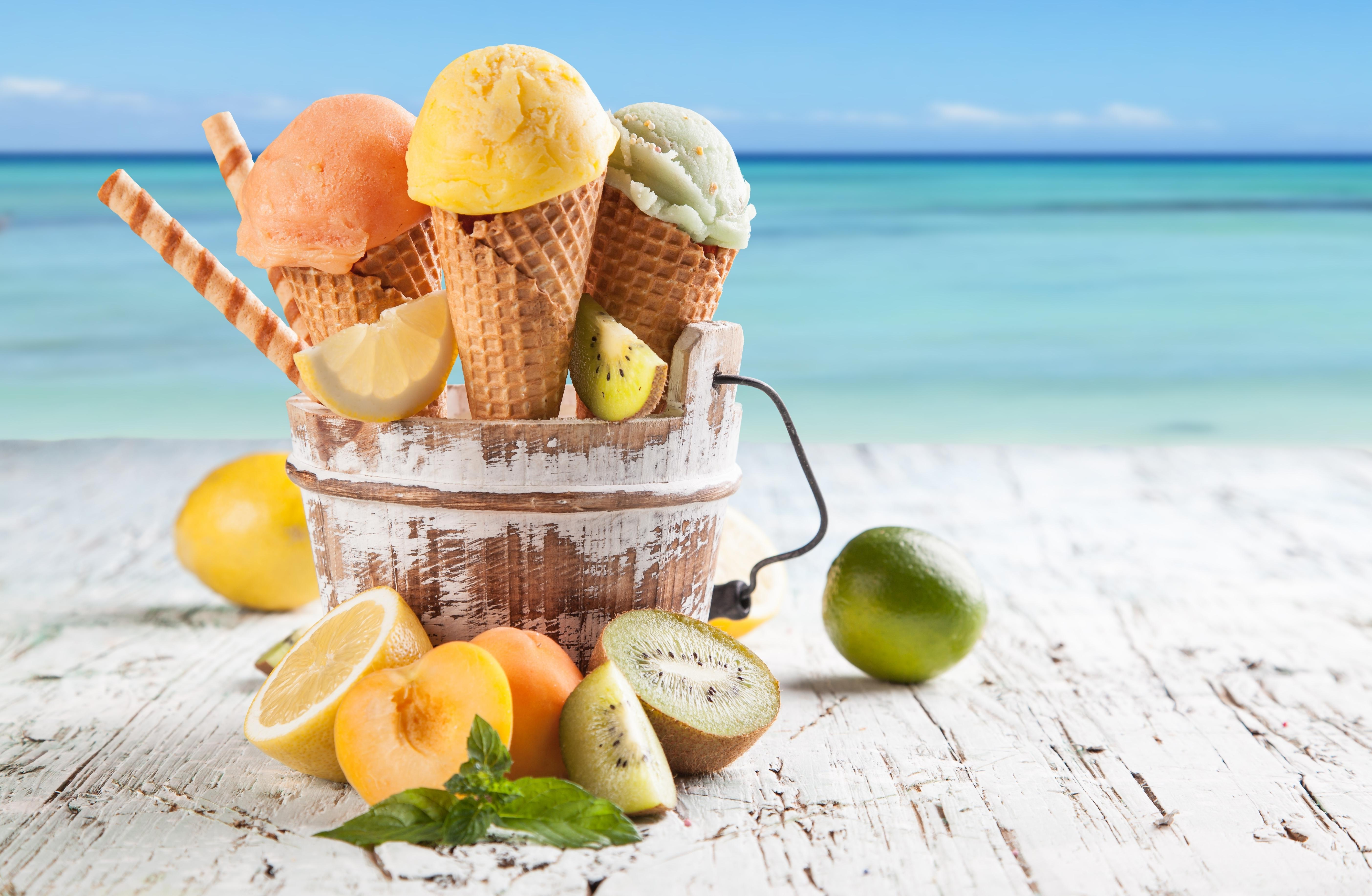 summer wallpapers ice creams