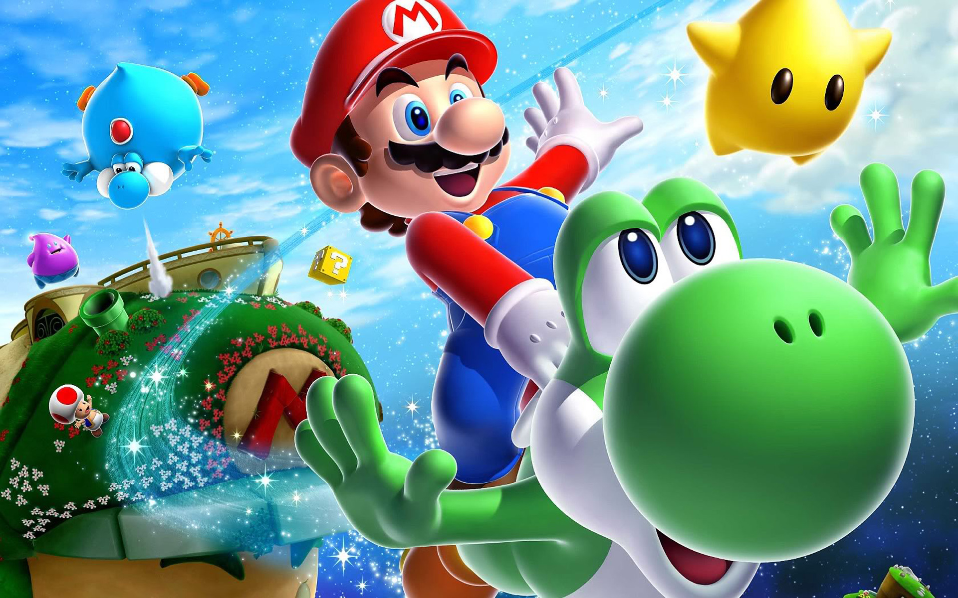 super mario hd wallpaper