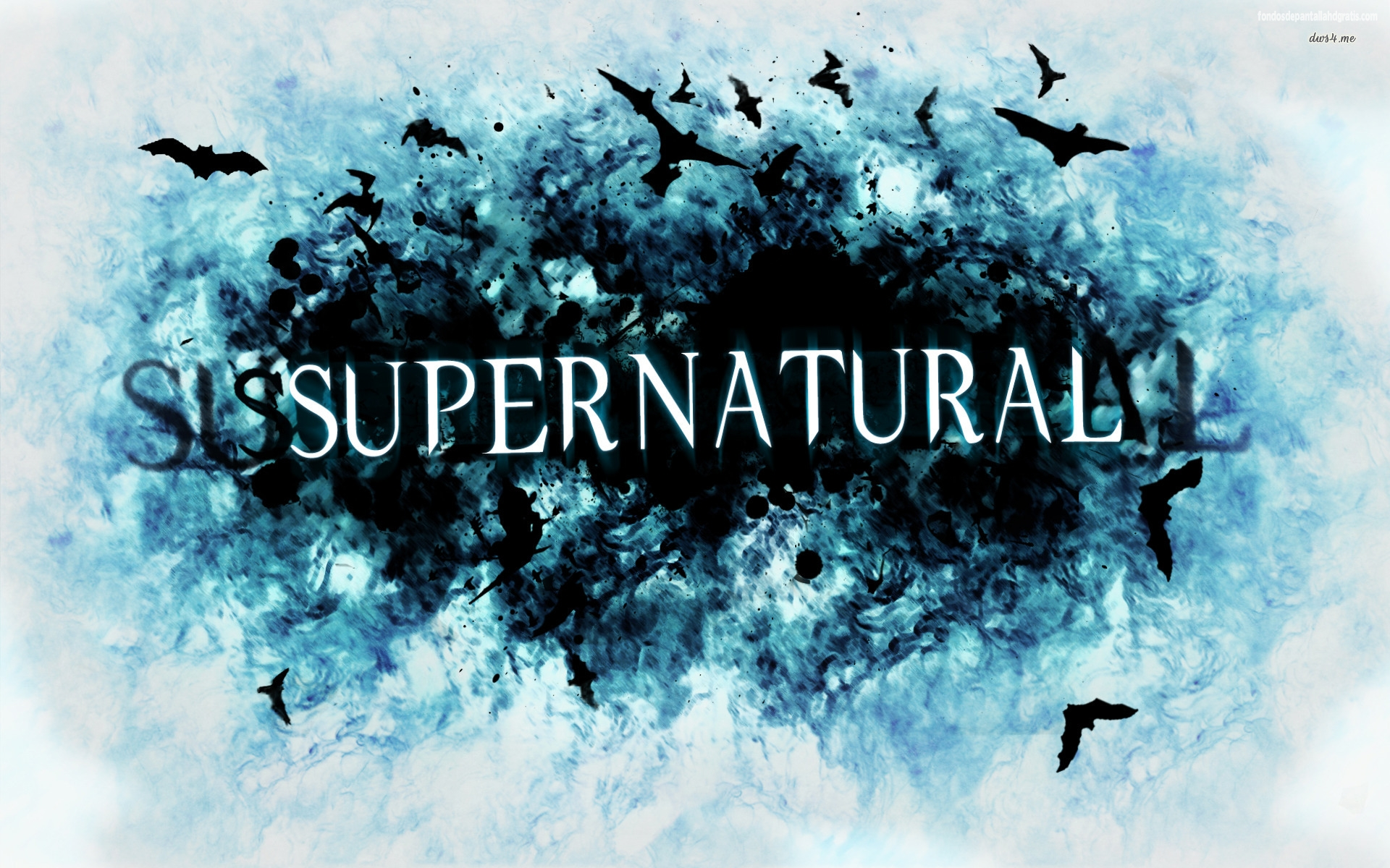 supernatural wallpapers blue