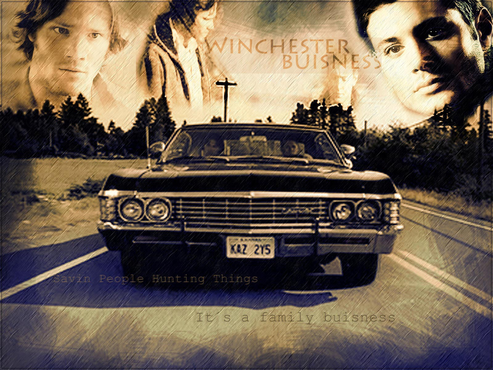 supernatural wallpapers business