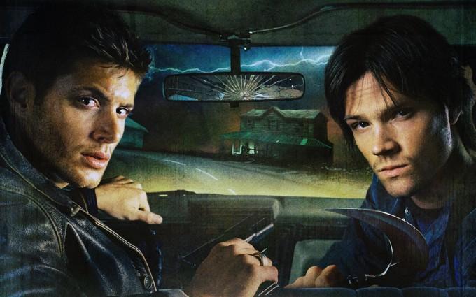 supernatural wallpapers car