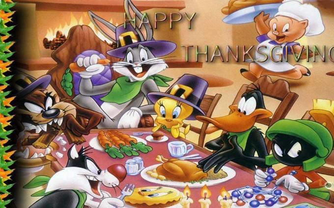 thanksgiving wallpapers cartoon