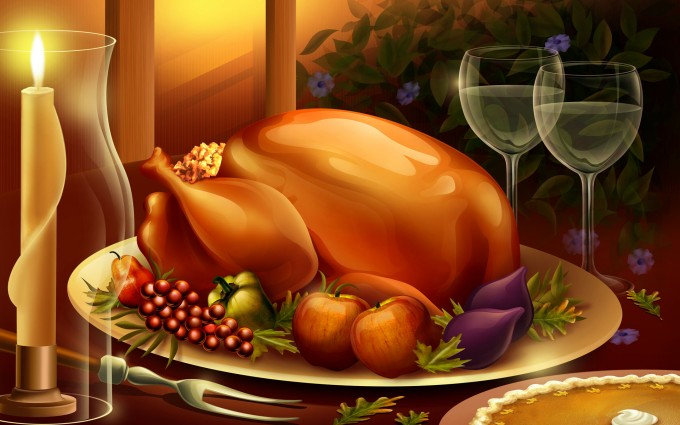 thanksgiving wallpapers dinner