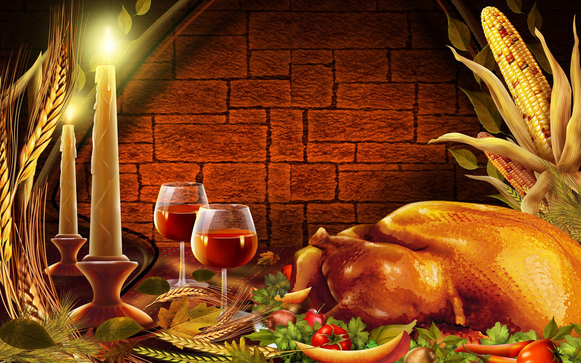 thanksgiving wallpapers dinner simple