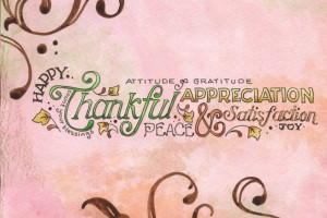 thanksgiving wallpapers pink