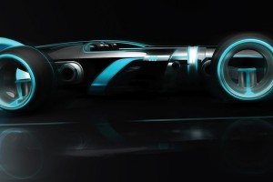 tron car wallpaper