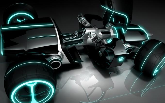 tron legacy hd wallpaper car