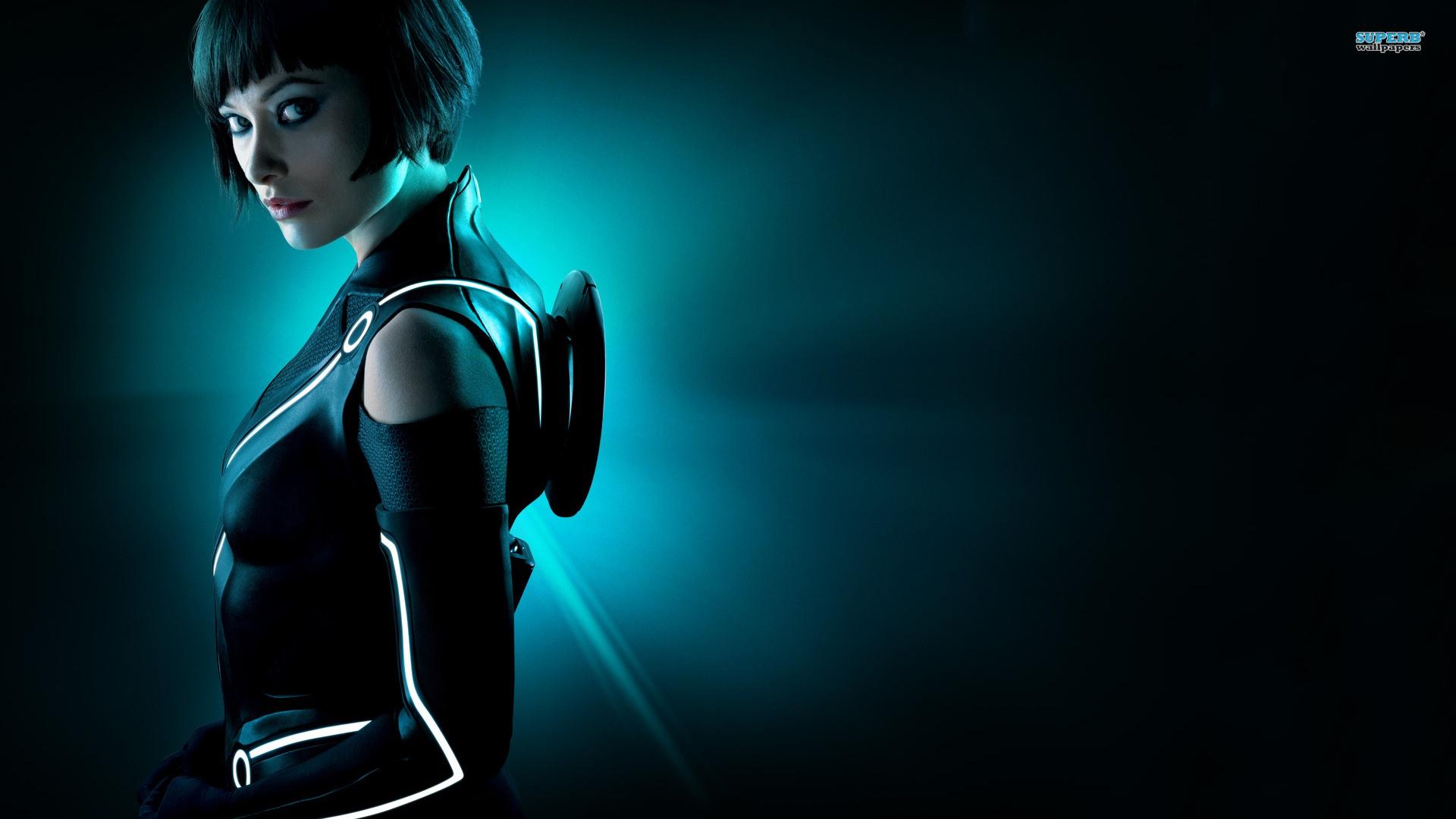 images of wallpaper tron cyberbike girl - #fan