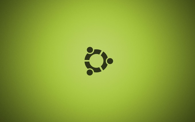 ubuntu wallpaper green