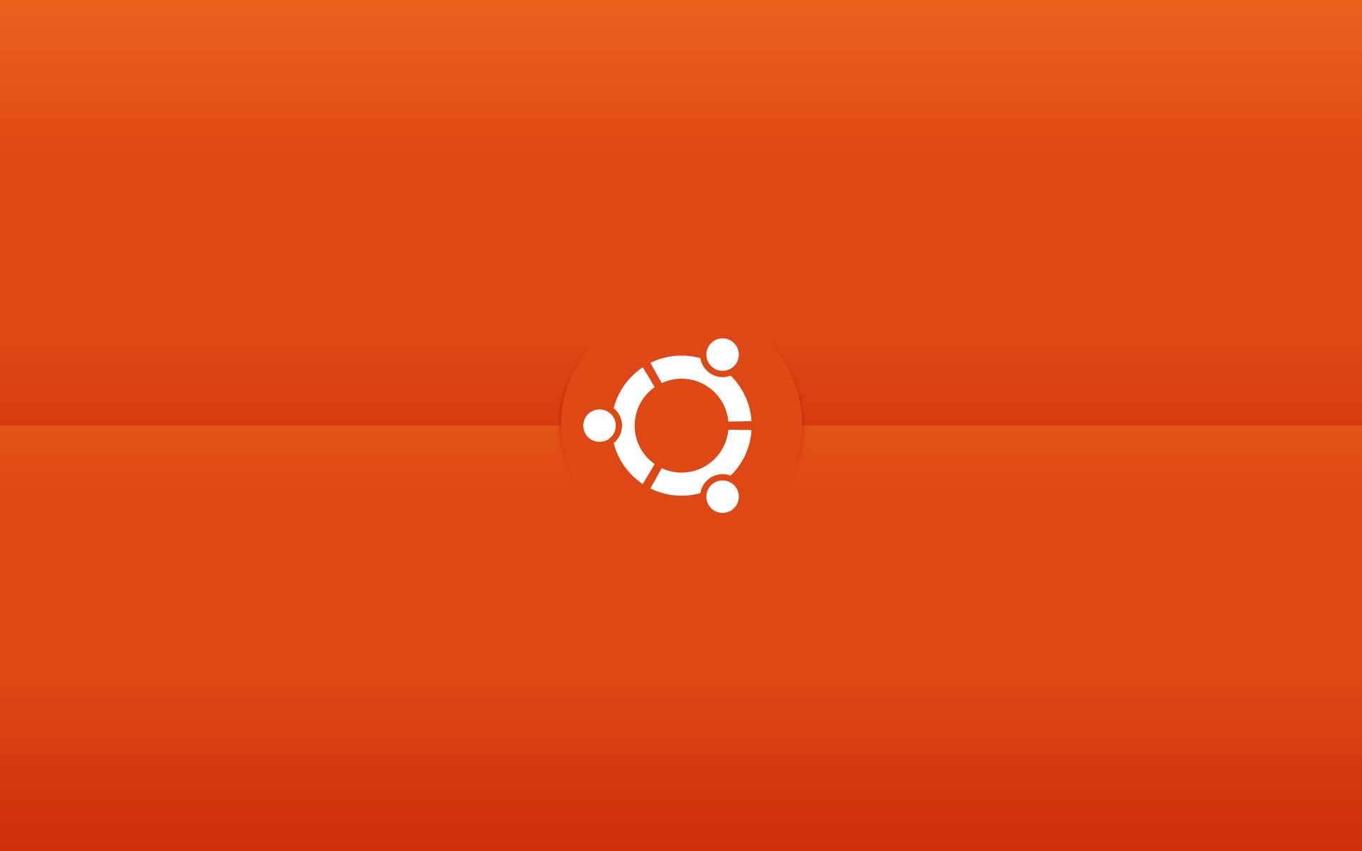 ubuntu wallpaper orange