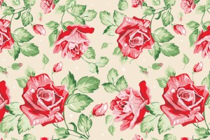 vintage floral wallpaper cool