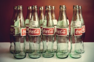 vintage wallpaper cola