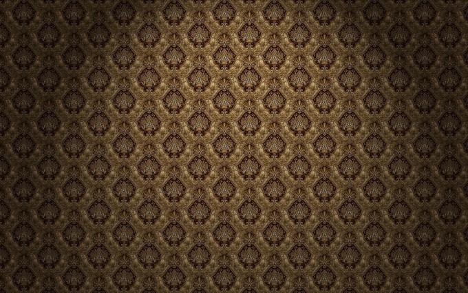 vintage wallpaper gold